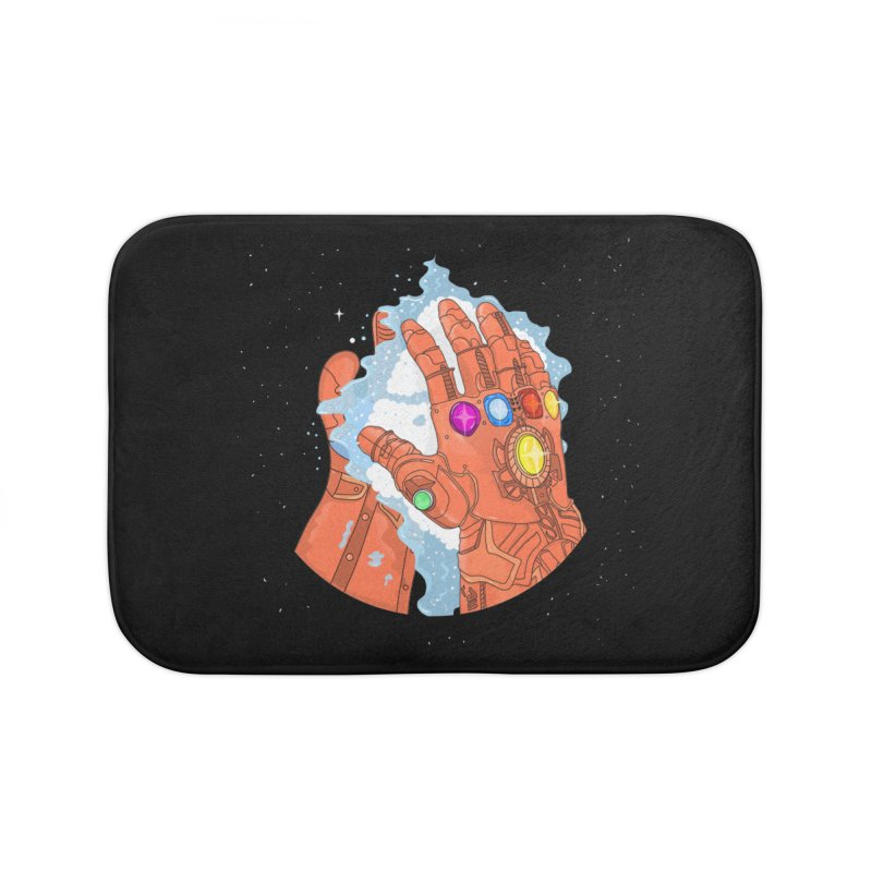Wash your hands Home Bath Mat by darruda's Artist Shop