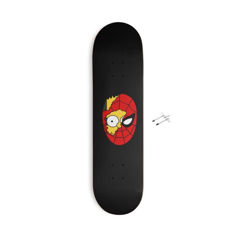 2 Faces Accessories Skateboard by darruda's Artist Shop