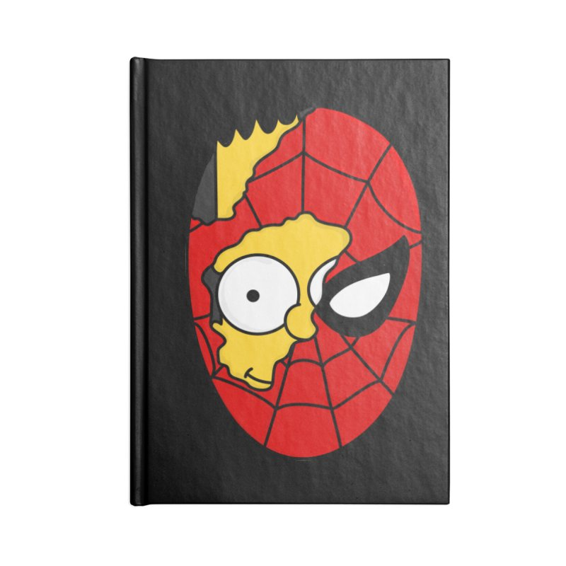 2 Faces Accessories Notebook by darruda's Artist Shop