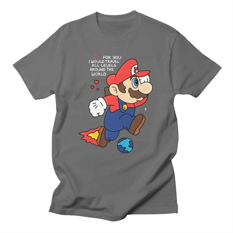 All Levels around the World Men's T-Shirt by darruda's Artist Shop