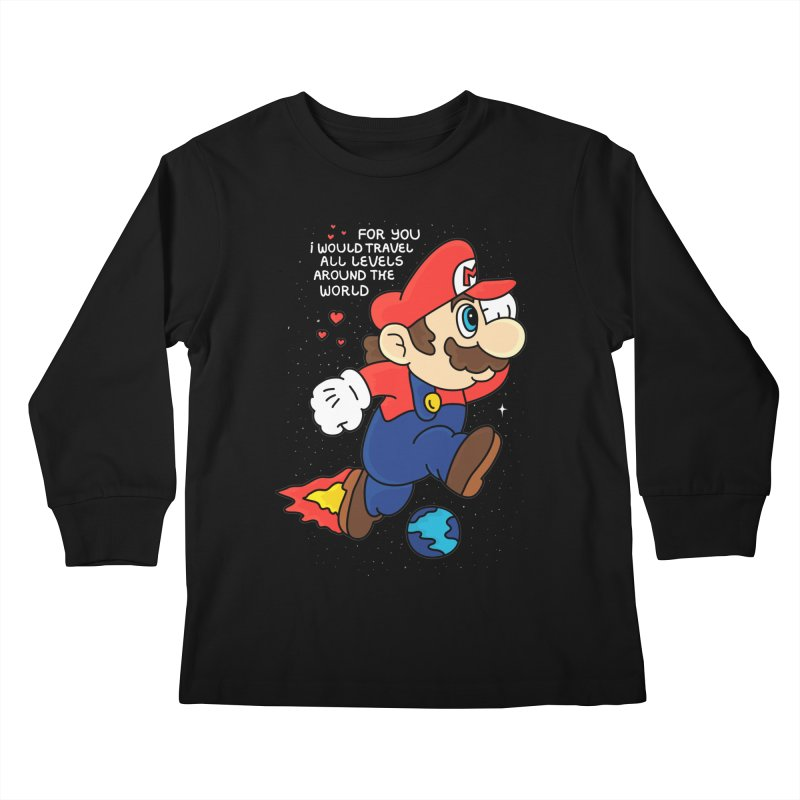 All Levels around the World Kids Longsleeve T-Shirt by darruda's Artist Shop