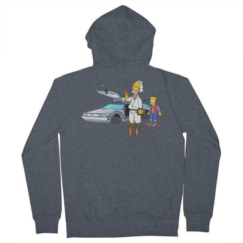 Back to the Space Men's Zip-Up Hoody by darruda's Artist Shop