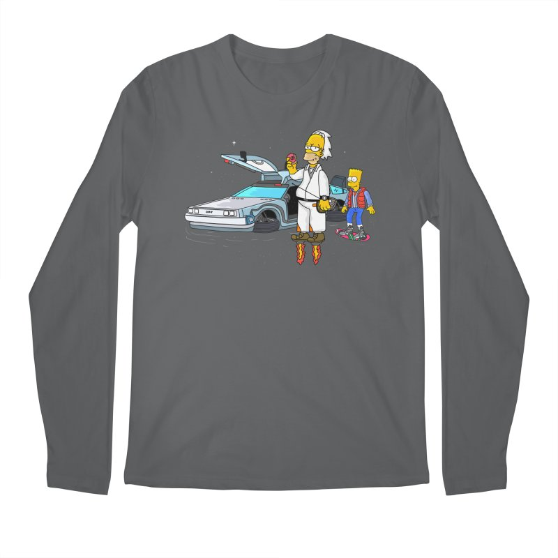 Back to the Space Men's Longsleeve T-Shirt by darruda's Artist Shop