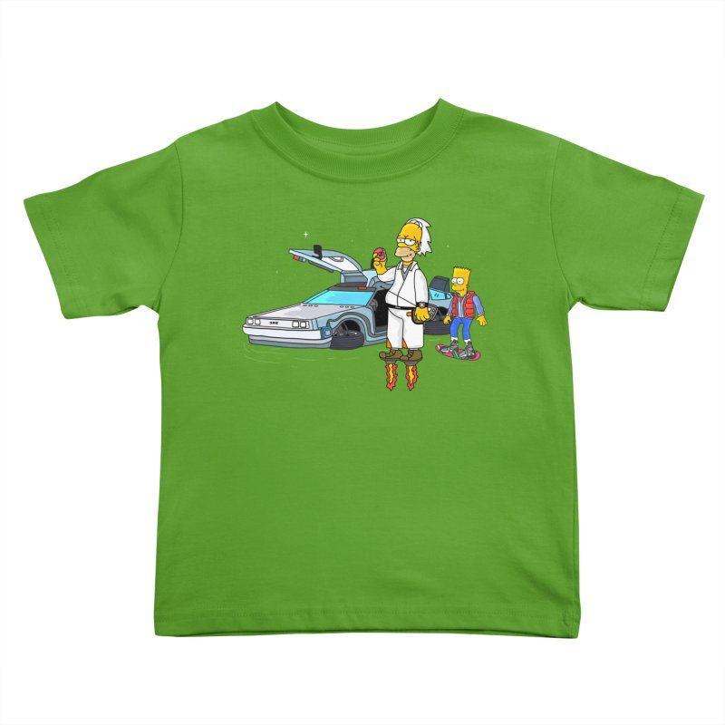 Back to the Space Kids Toddler T-Shirt by darruda's Artist Shop