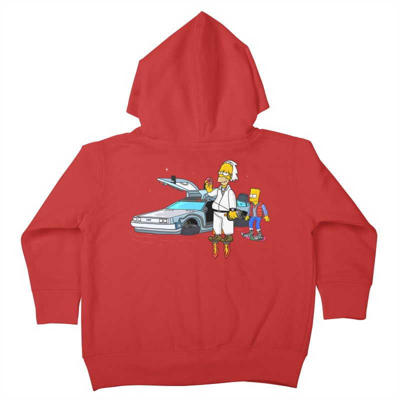 Back to the Space Kids Toddler Zip-Up Hoody by darruda's Artist Shop