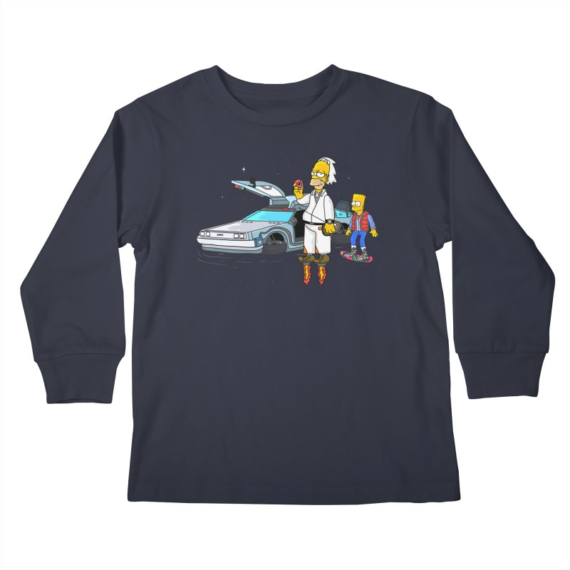 Back to the Space Kids Longsleeve T-Shirt by darruda's Artist Shop