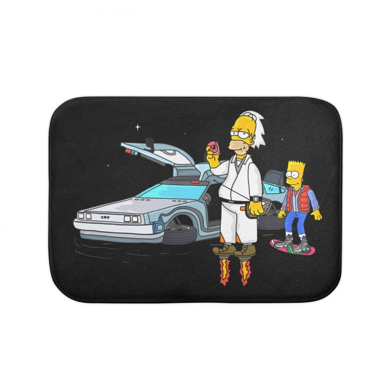 Back to the Space Home Bath Mat by darruda's Artist Shop