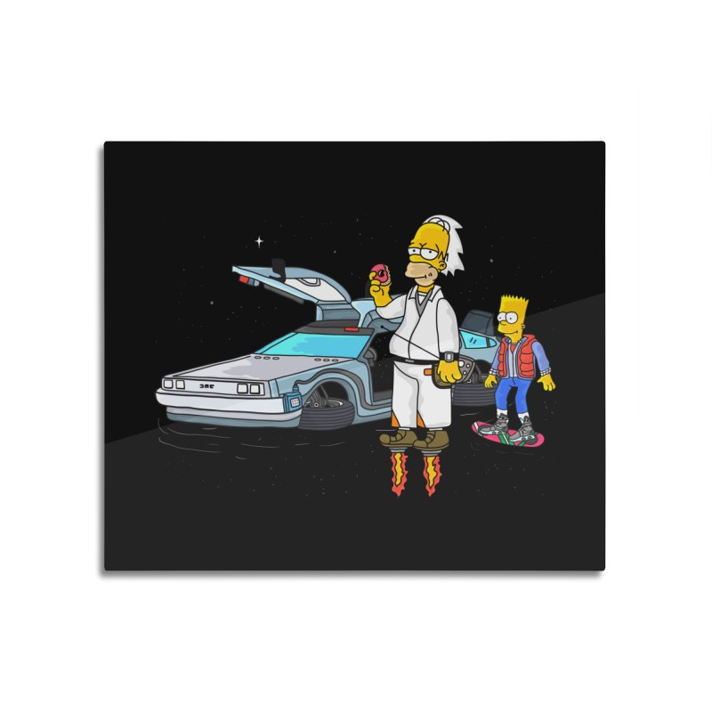 Back to the Space Home Mounted Aluminum Print by darruda's Artist Shop
