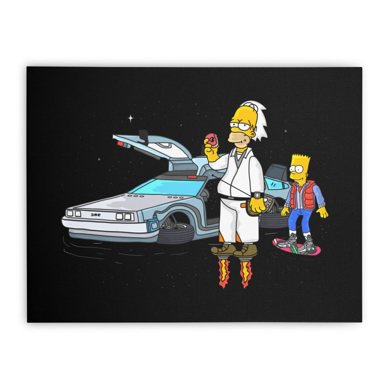 Back to the Space Home Stretched Canvas by darruda's Artist Shop