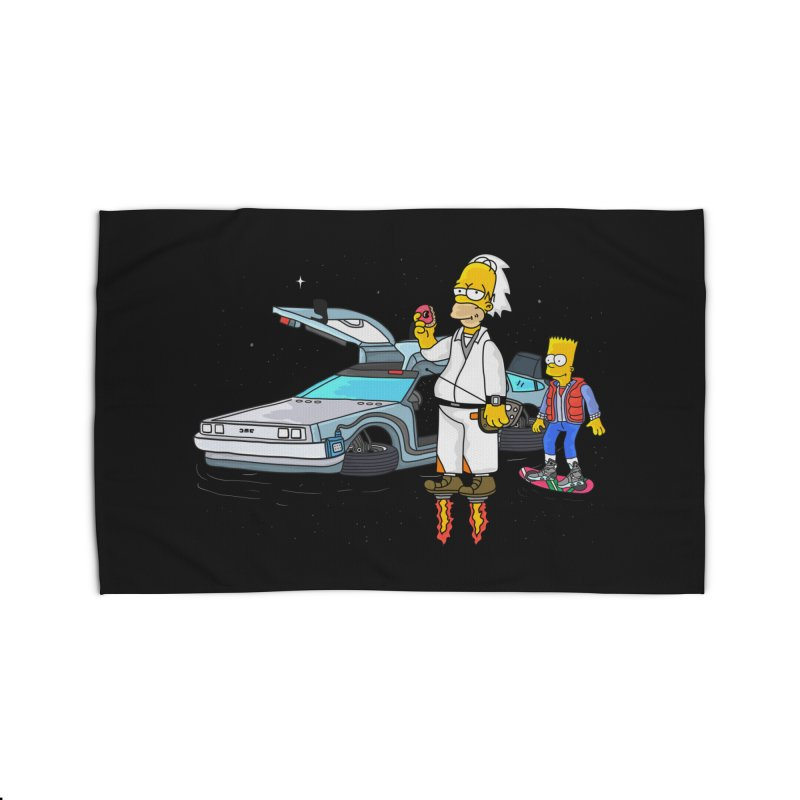 Back to the Space Home Rug by darruda's Artist Shop