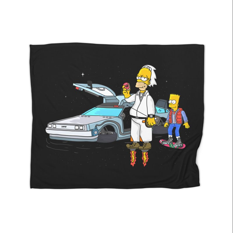 Back to the Space Home Blanket by darruda's Artist Shop