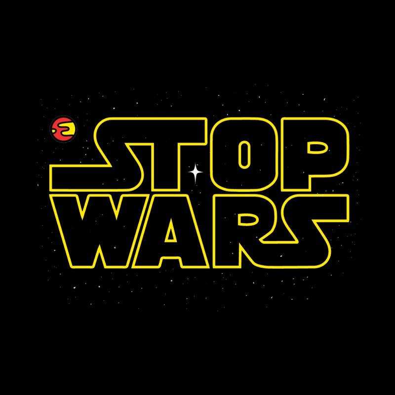 Stop Wars Kids Longsleeve T-Shirt by darruda's Artist Shop
