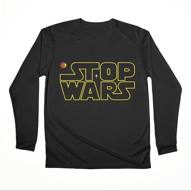Stop Wars Women's Longsleeve T-Shirt by darruda's Artist Shop