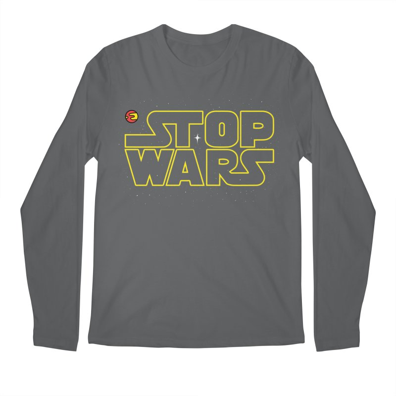 Stop Wars Men's Longsleeve T-Shirt by darruda's Artist Shop