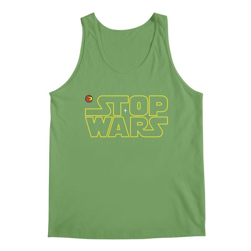 Stop Wars Men's Tank by darruda's Artist Shop