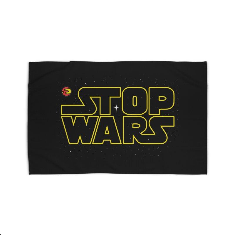 Stop Wars Home Rug by darruda's Artist Shop