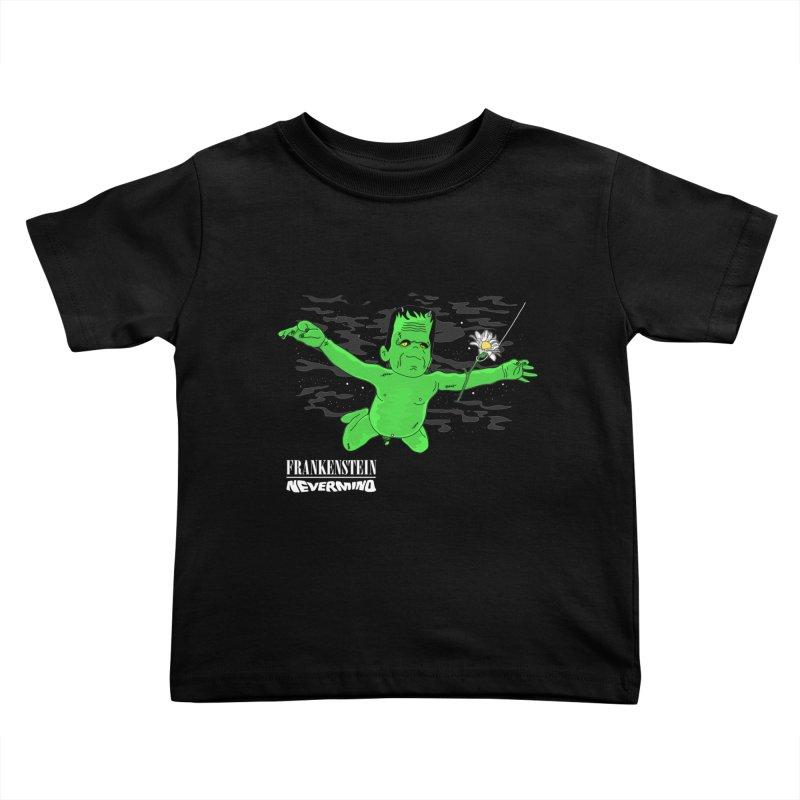 Nevermind Kids Toddler T-Shirt by darruda's Artist Shop