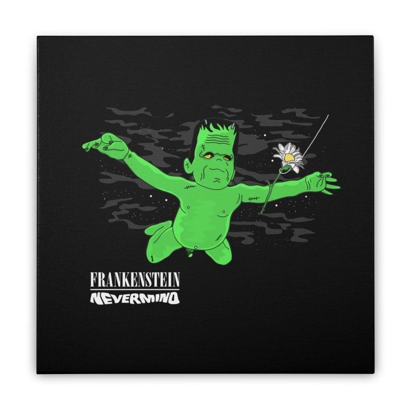 Nevermind Home Stretched Canvas by darruda's Artist Shop