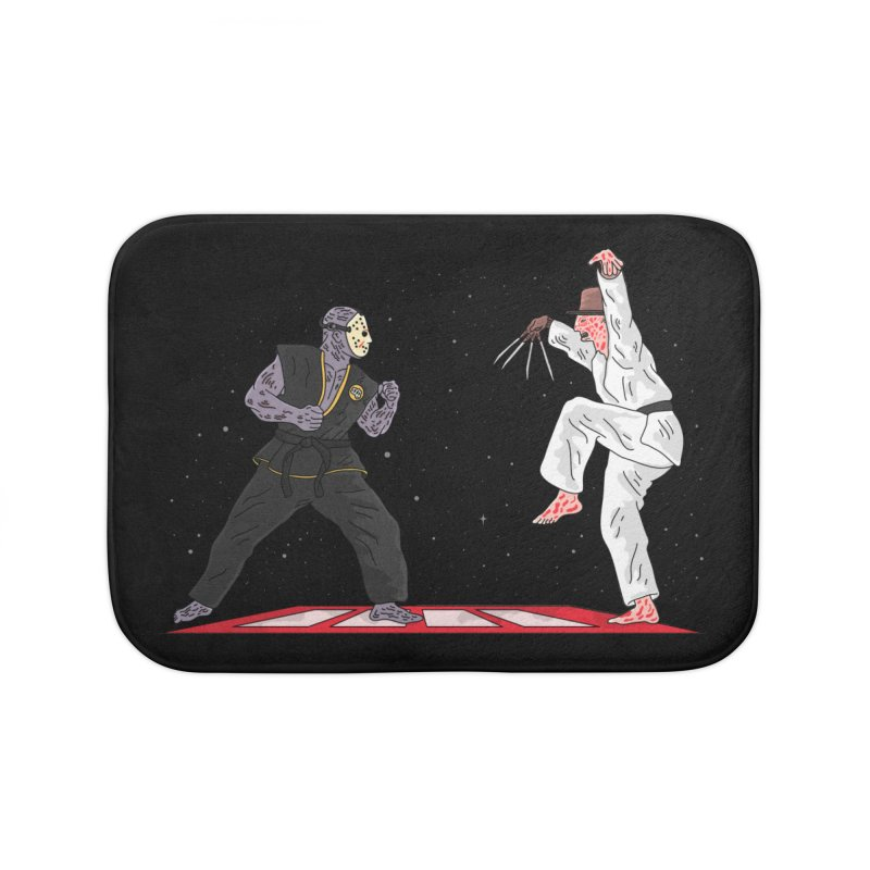 Cobra Kai Home Bath Mat by darruda's Artist Shop
