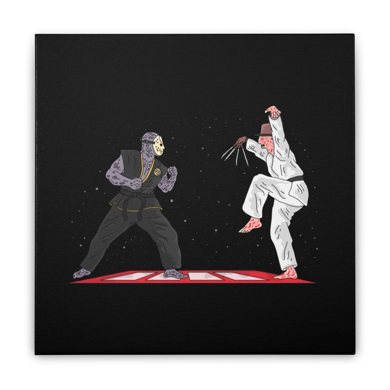 Cobra Kai Home Stretched Canvas by darruda's Artist Shop