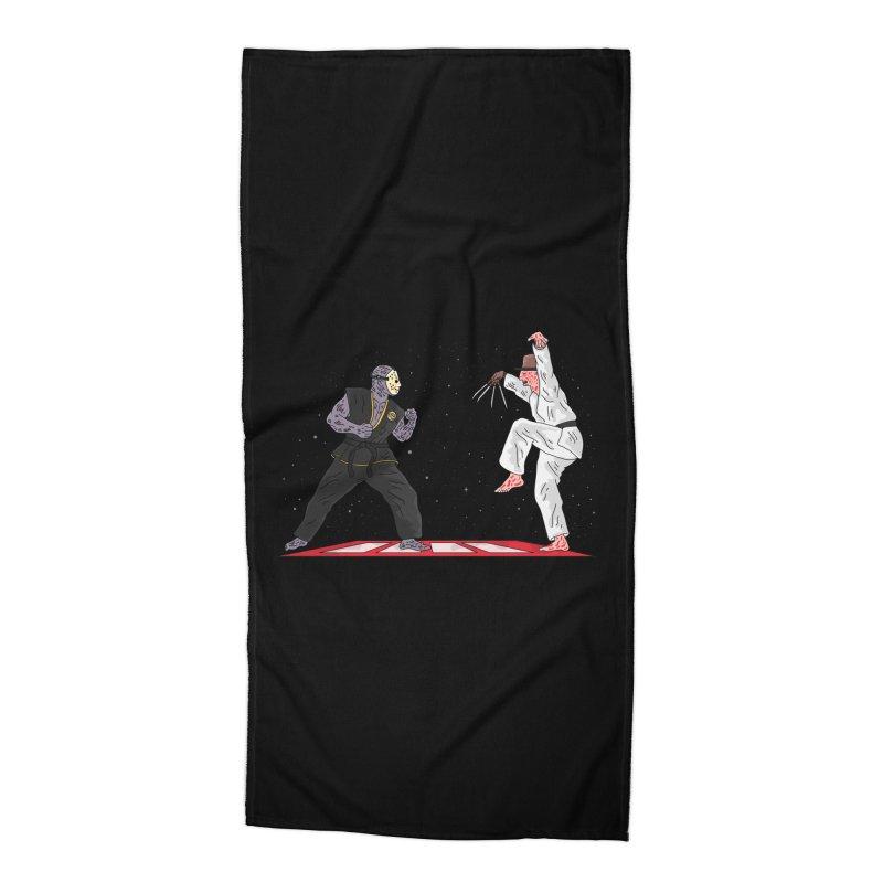 Cobra Kai Accessories Beach Towel by darruda's Artist Shop