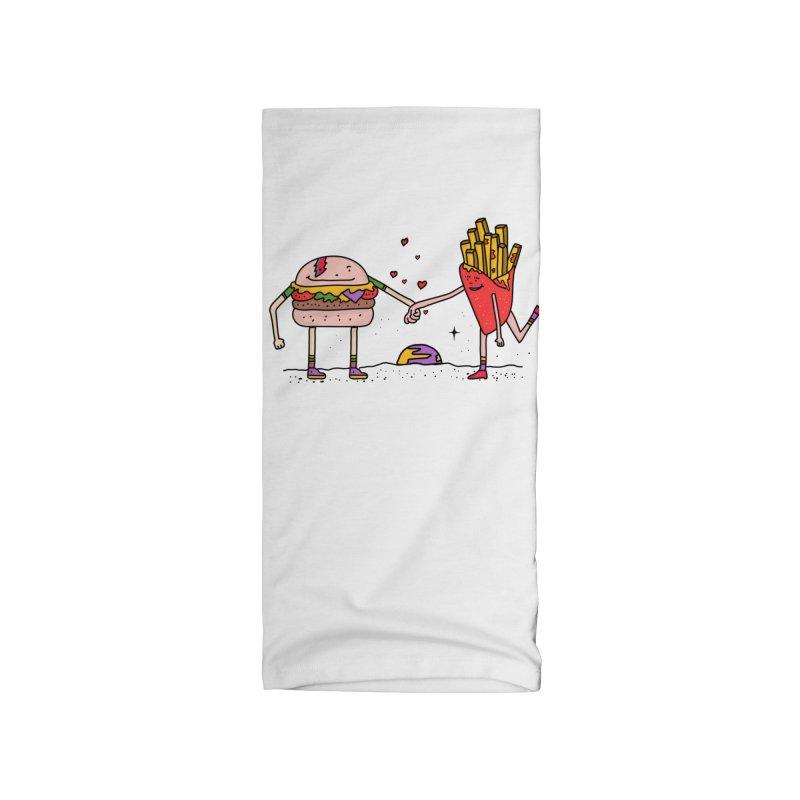 Burger & Fries Accessories Neck Gaiter by darruda's Artist Shop