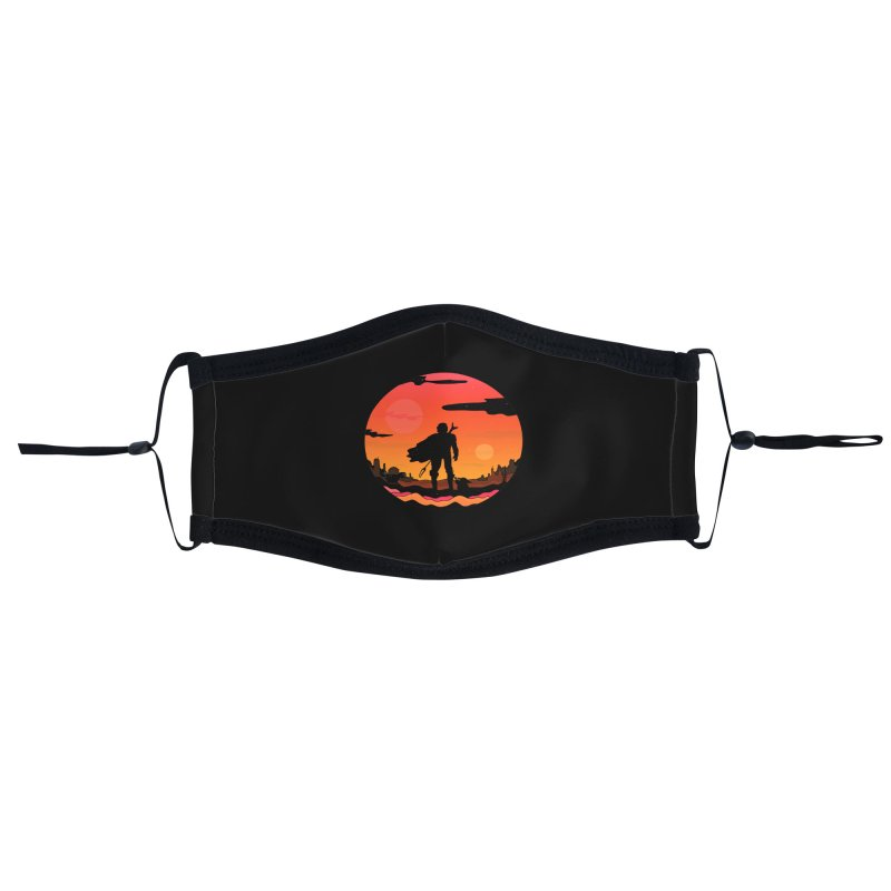 The Sunset Accessories Face Mask by darruda's Artist Shop