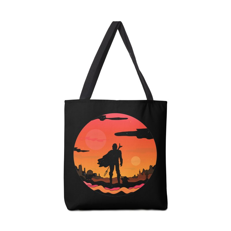 The Sunset Accessories Bag by darruda's Artist Shop