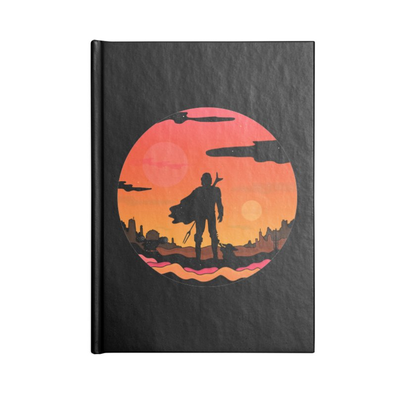 The Sunset Accessories Notebook by darruda's Artist Shop