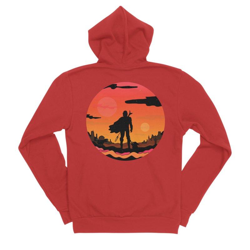 The Sunset Men's Zip-Up Hoody by darruda's Artist Shop