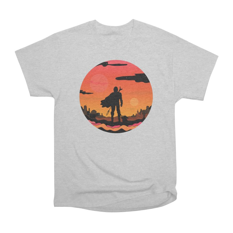 The Sunset Men's T-Shirt by darruda's Artist Shop