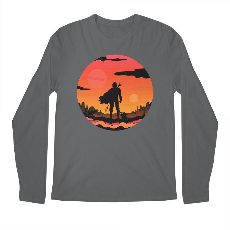 The Sunset Men's Longsleeve T-Shirt by darruda's Artist Shop