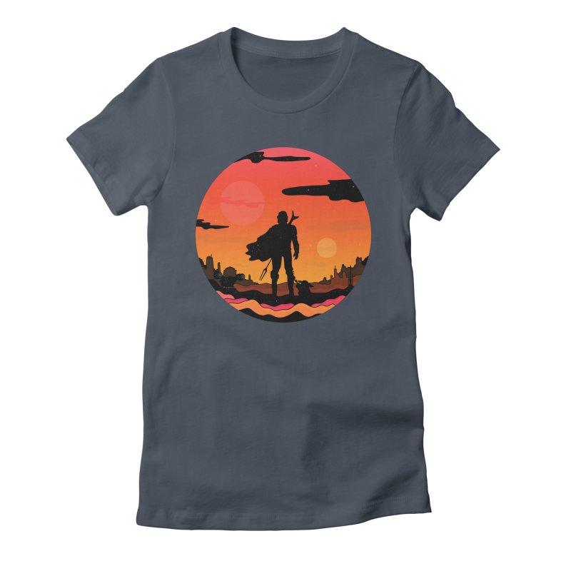 The Sunset Women's T-Shirt by darruda's Artist Shop