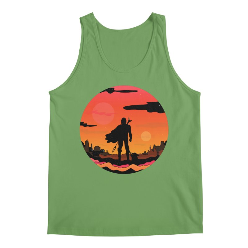 The Sunset Men's Tank by darruda's Artist Shop
