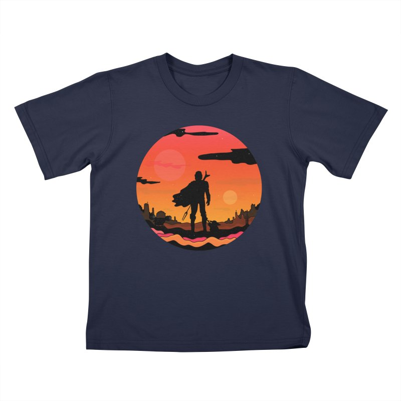 The Sunset Kids T-Shirt by darruda's Artist Shop