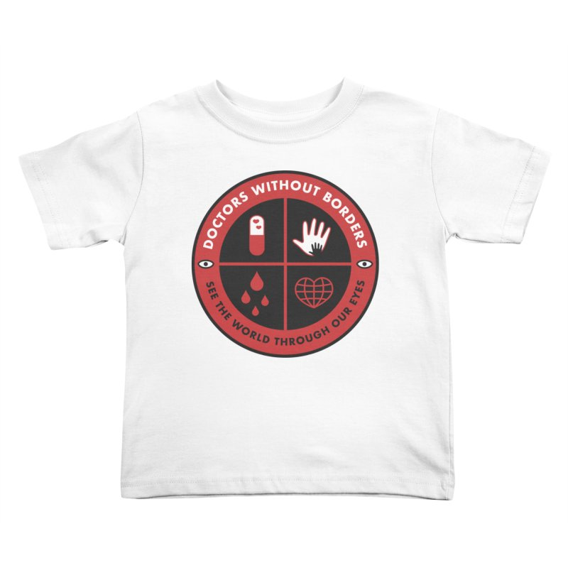 Doctors Without Borders T-shirt   by darruda's Artist Shop