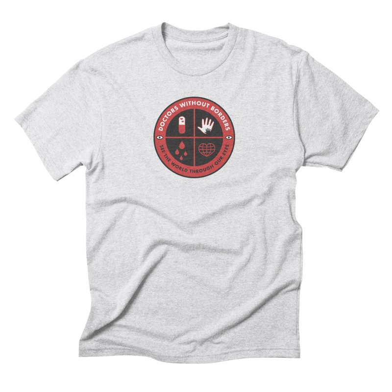 Doctors Without Borders Men's Triblend T-Shirt by darruda's Artist Shop