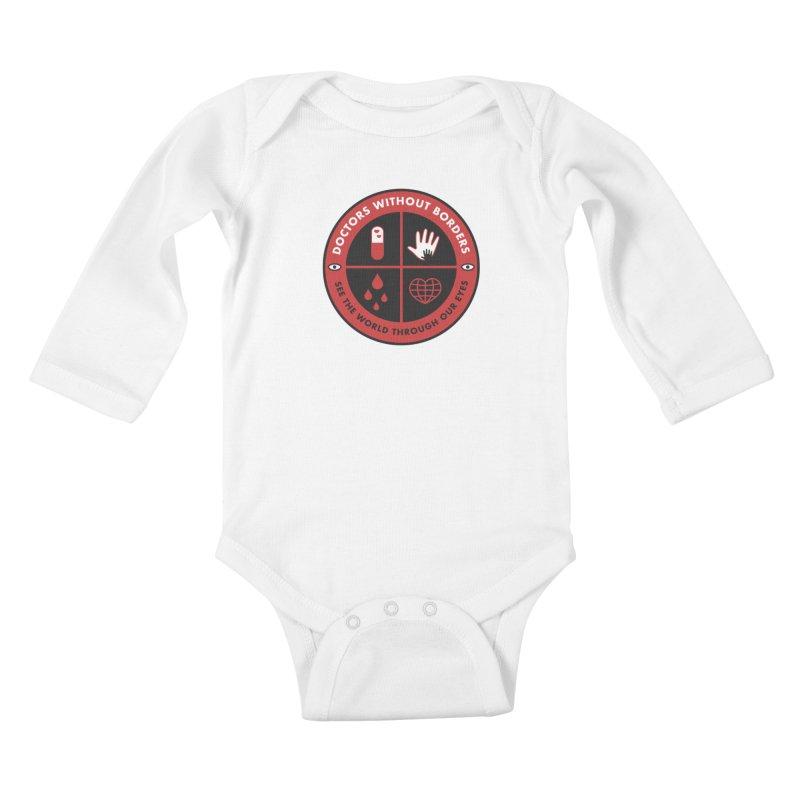 Doctors Without Borders Kids Baby Longsleeve Bodysuit by darruda's Artist Shop