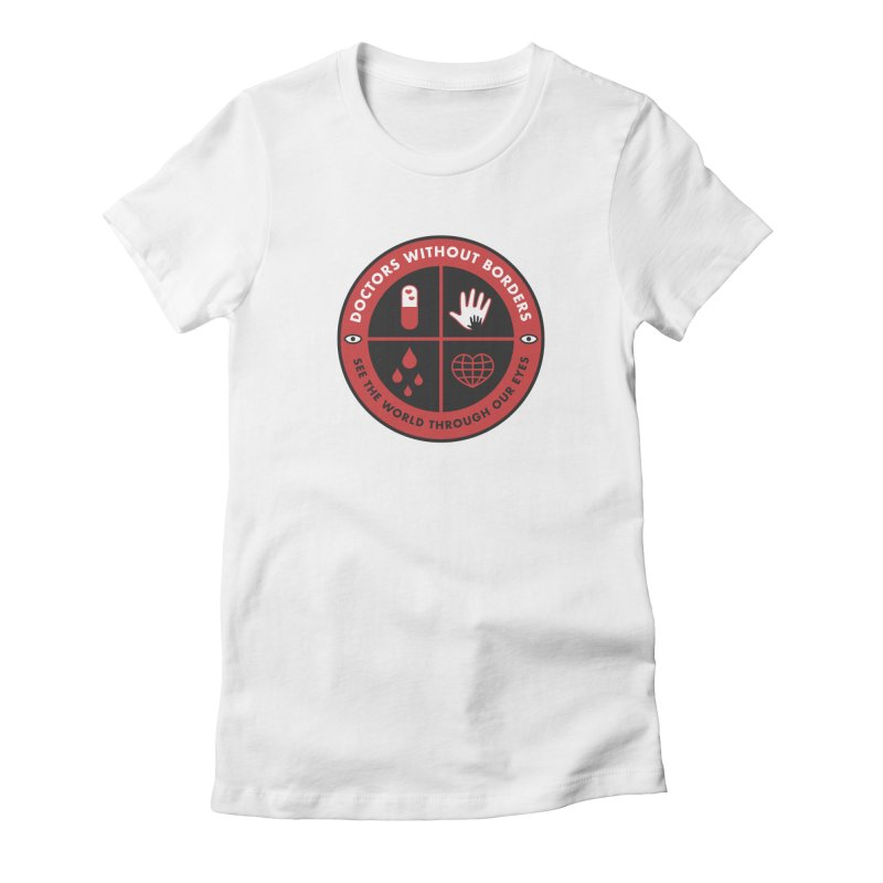 Doctors Without Borders Women's Fitted T-Shirt by darruda's Artist Shop