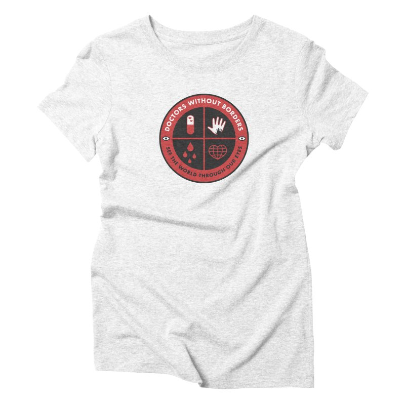 Doctors Without Borders Women's Triblend T-shirt by darruda's Artist Shop