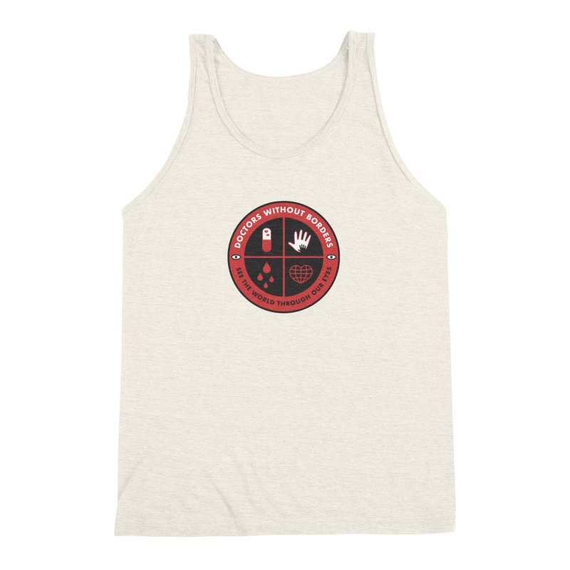 Doctors Without Borders Men's Triblend Tank by darruda's Artist Shop