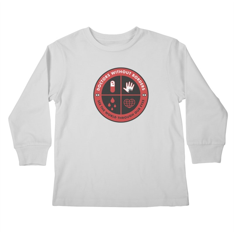 Doctors Without Borders Kids Longsleeve T-Shirt by darruda's Artist Shop