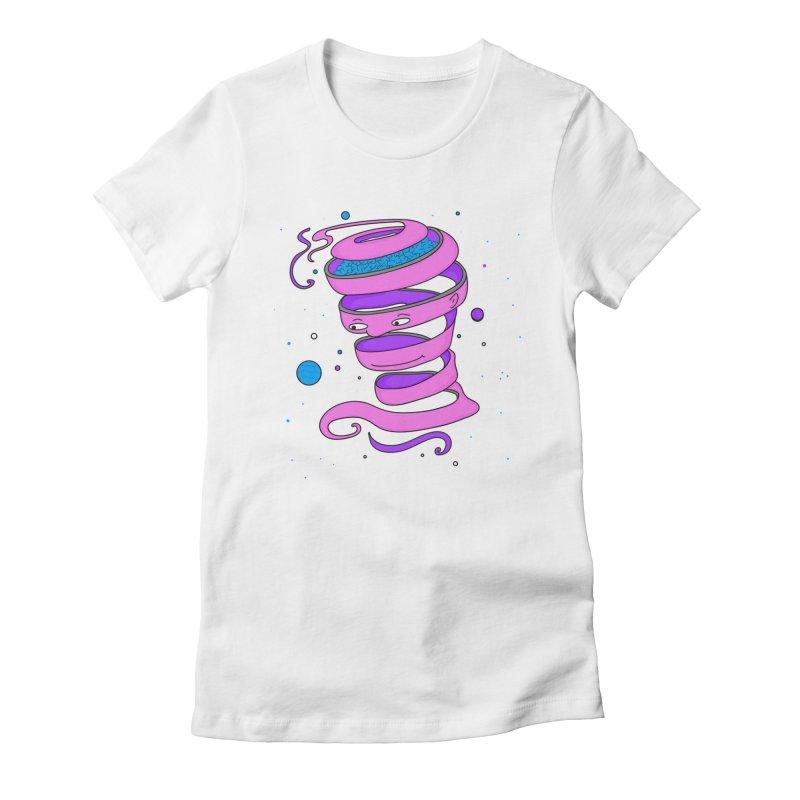 Mr Brain Women's Fitted T-Shirt by darruda's Artist Shop