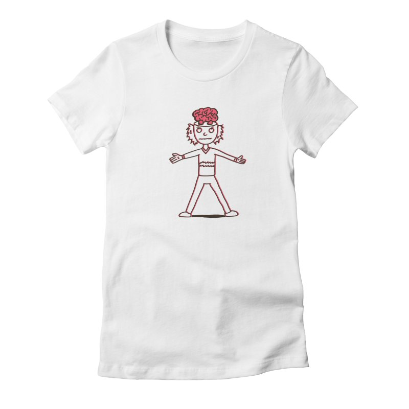 Connection Women's Fitted T-Shirt by darruda's Artist Shop
