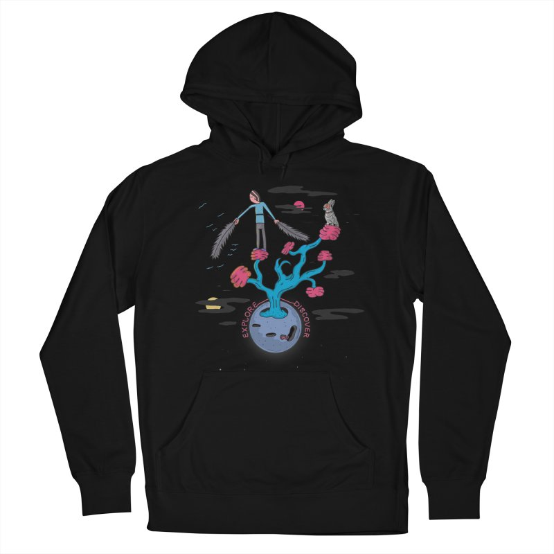 Explore, Discover Women's Pullover Hoody by darruda's Artist Shop