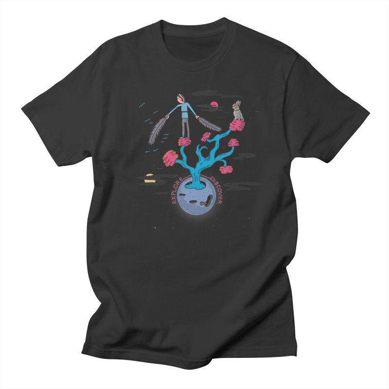 Explore, Discover Men's T-shirt by darruda's Artist Shop