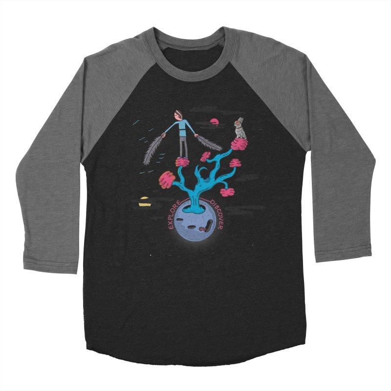 Explore, Discover Women's Baseball Triblend T-Shirt by darruda's Artist Shop