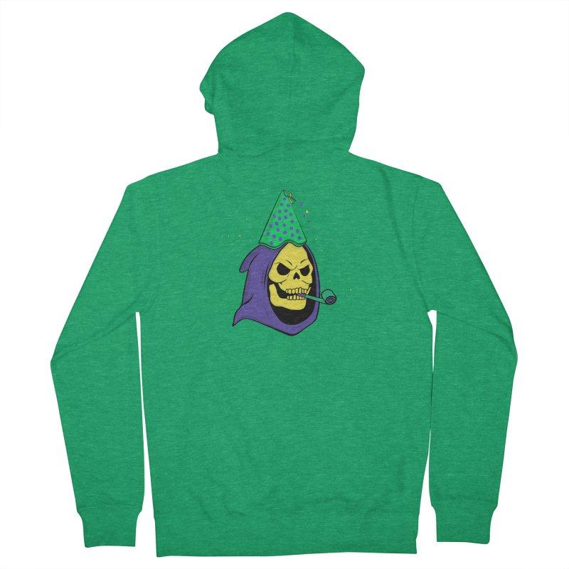 Skull Party Men's Zip-Up Hoody by darruda's Artist Shop