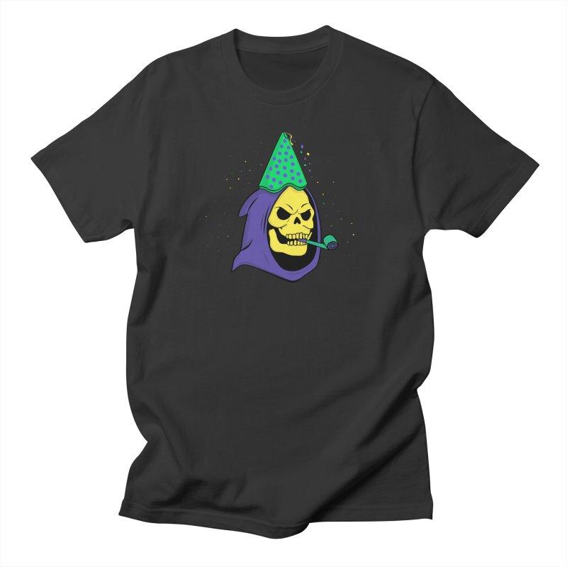 Skull Party Men's T-shirt by darruda's Artist Shop