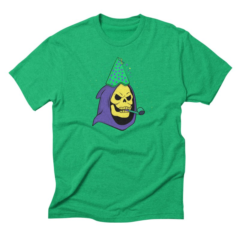 Skull Party Men's Triblend T-shirt by darruda's Artist Shop
